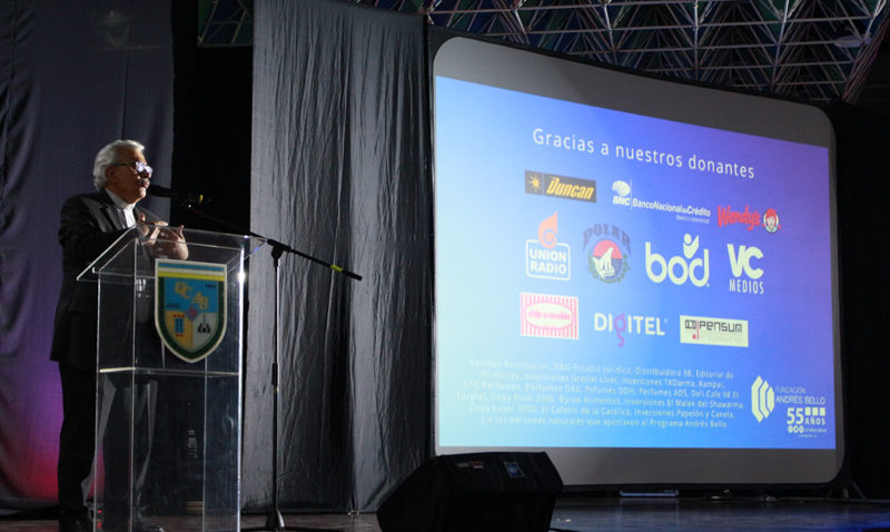 La Fundación Andrés Bello celebró 55 años de apoyo a los estudiantes ucabistas