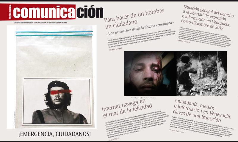 Revista Comunicación alerta sobre la crisis de la ciudadanía
