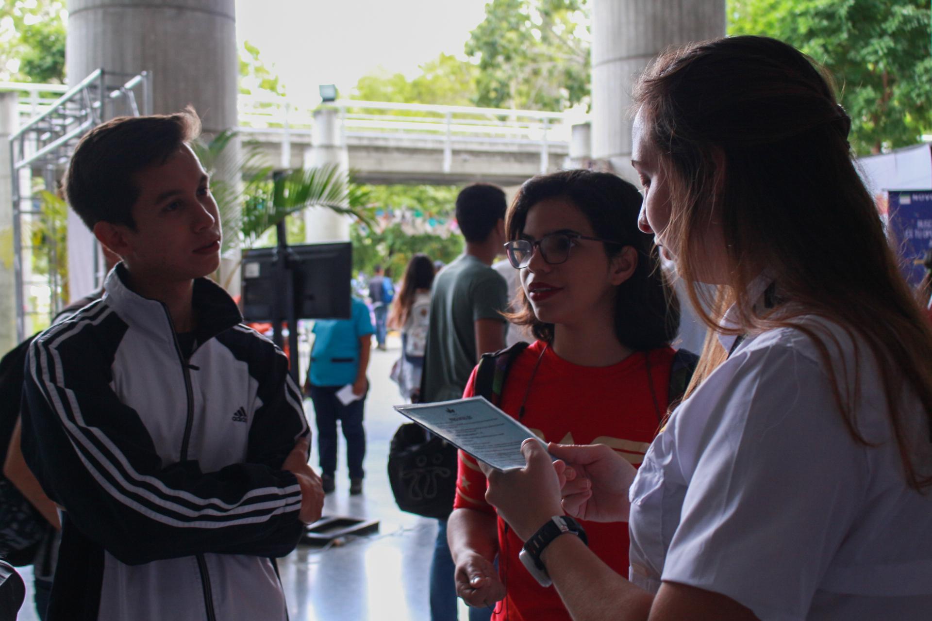 Universidad y empresa conectadas: Así transcurrió la Feria de empleo y pasantías 2018