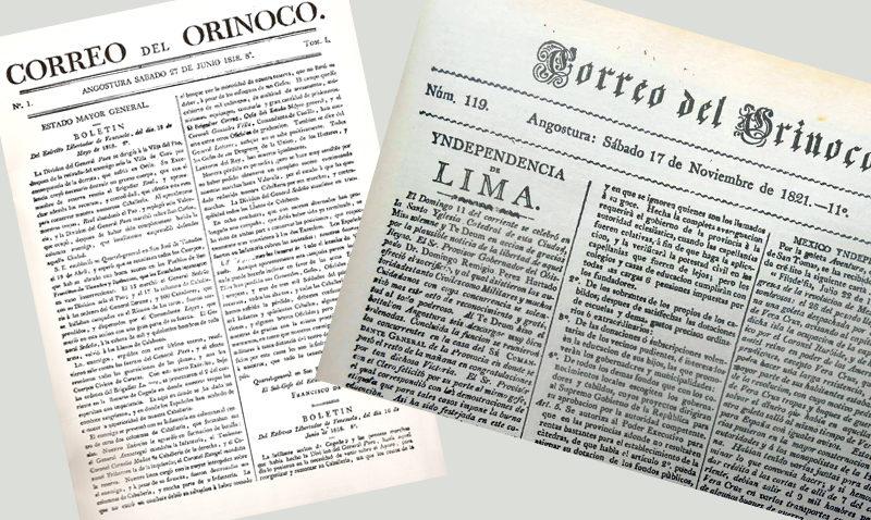 """Celebrararán coloquio por los 200 años del """"Correo del Orinoco"""""""