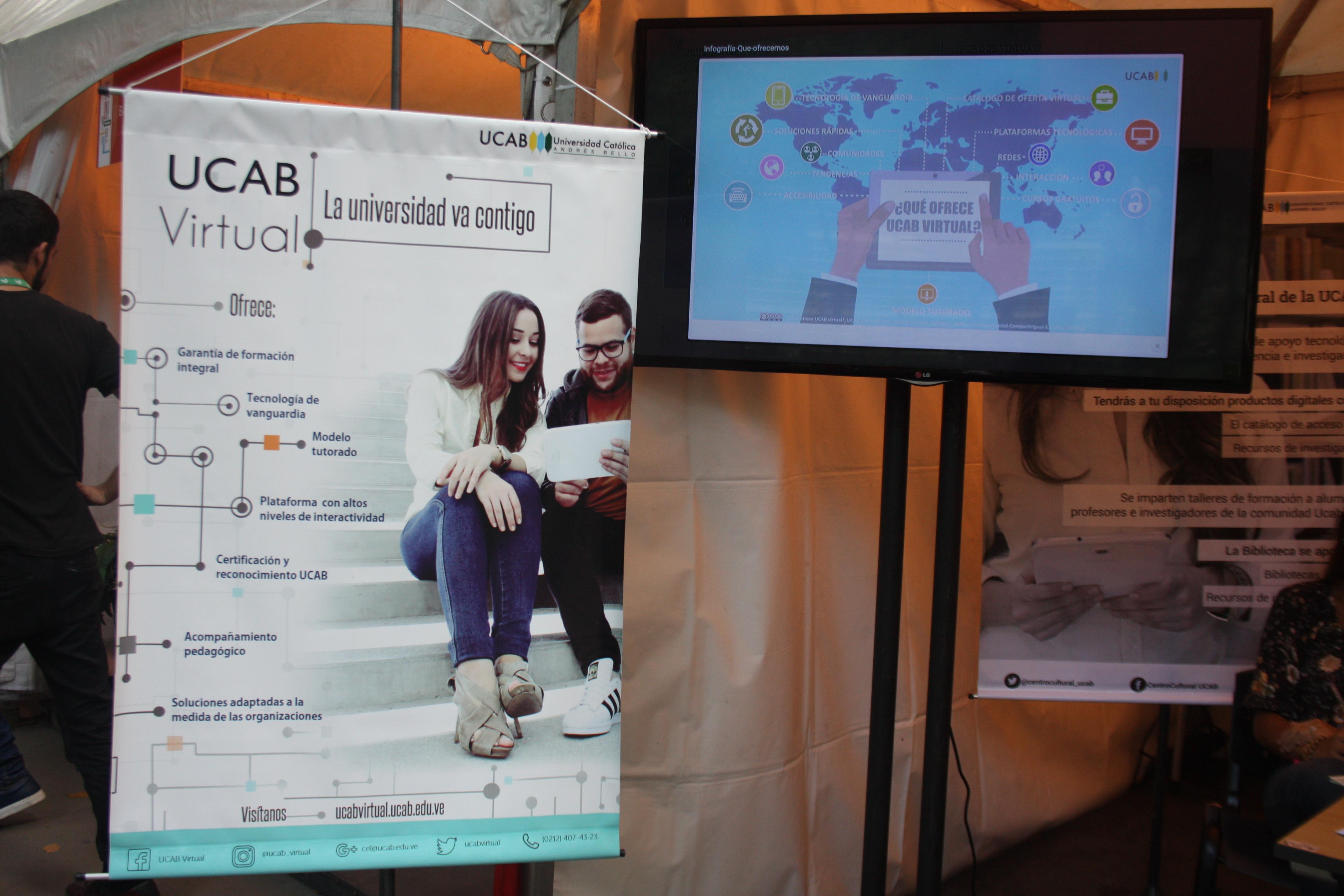 UCAB amplía oferta de estudios virtuales y servicios de investigación en línea