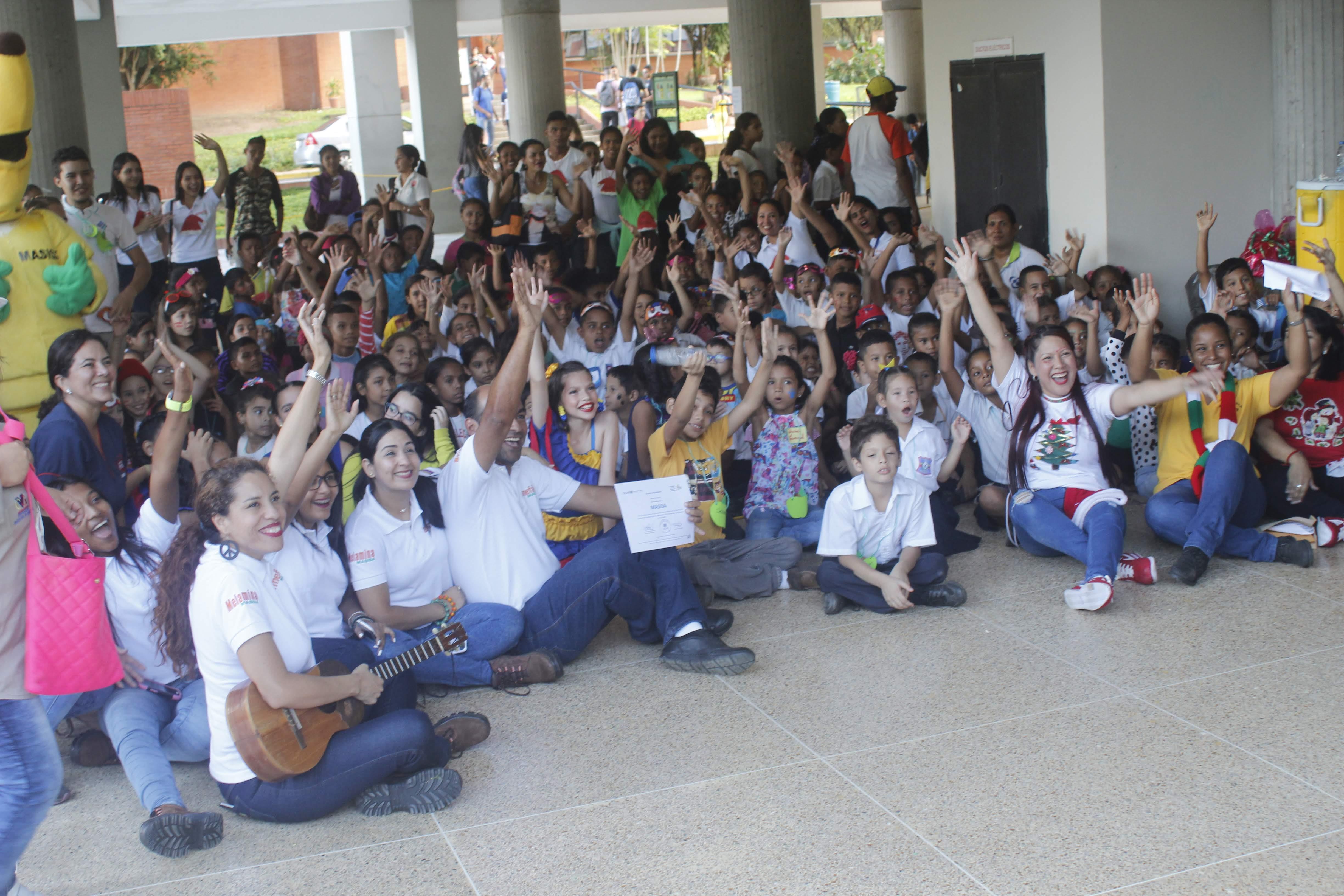 El Encuentro con los niños regaló alegría en Guayana