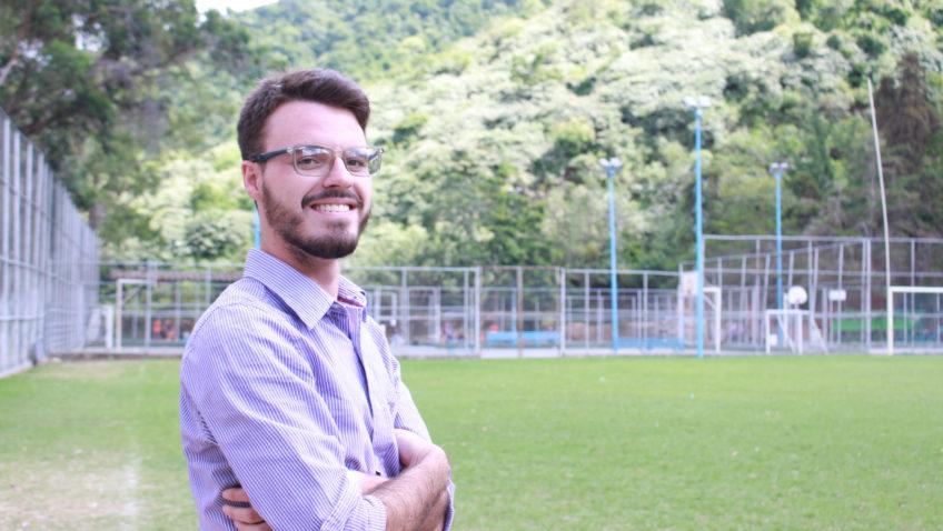 Rubén Reyes: estudiante, entrenador y ejemplo ucabista