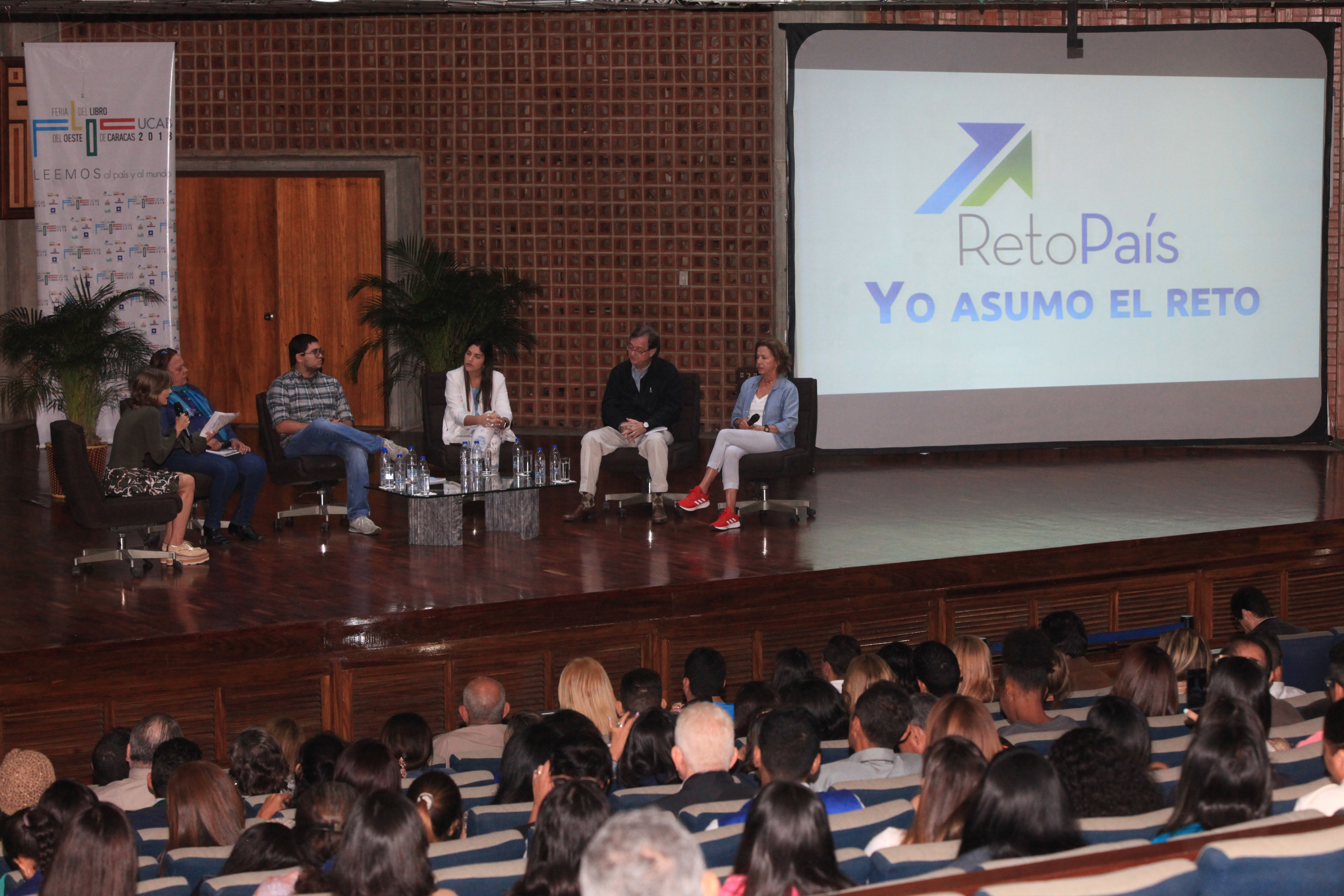 Personalidades venezolanas invitaron a seguir construyendo país