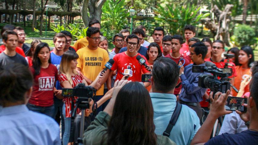 Movimiento Estudiantil manifestó respaldo a Juan Guaidó