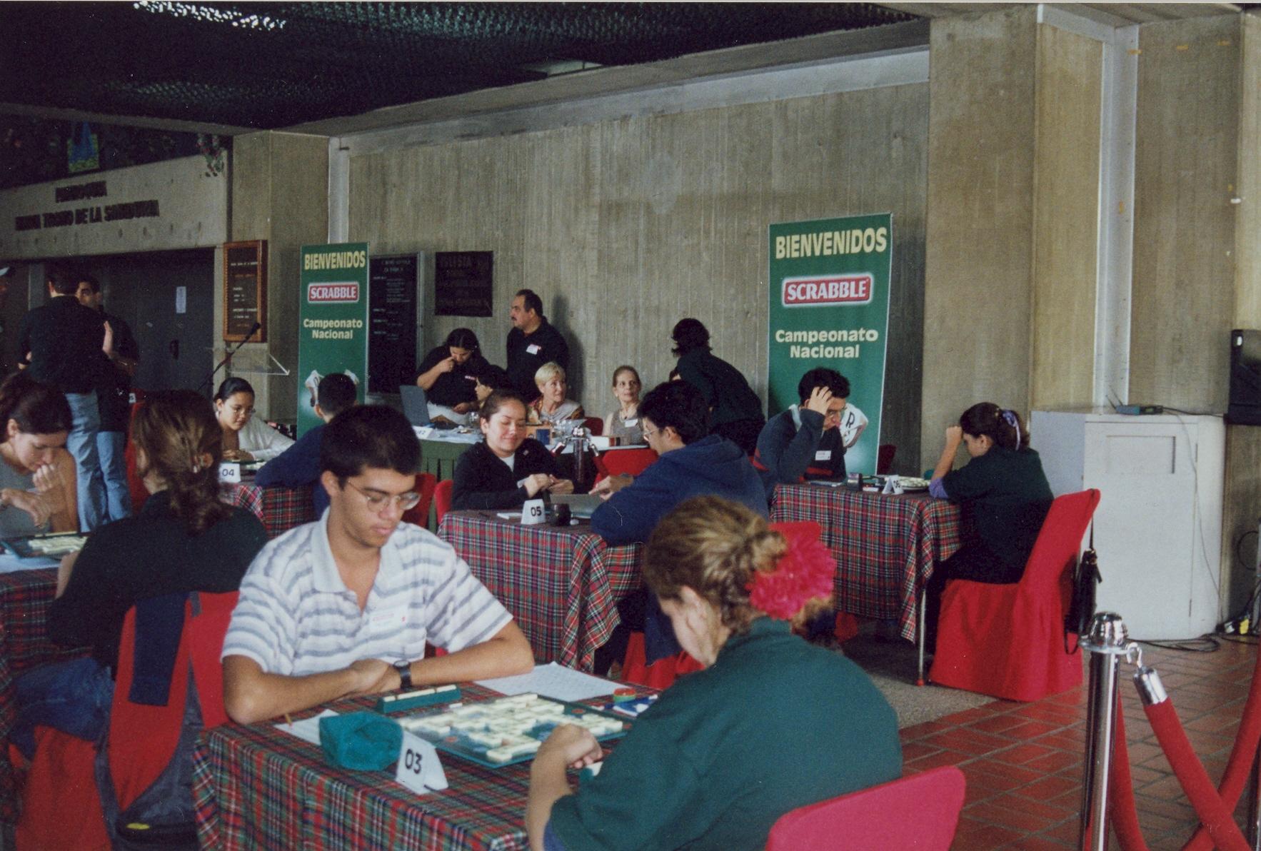 #TBTUCAB: Aquí también se juega Scrabble