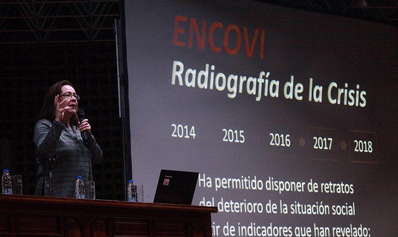 La UCAB presentó programa de emergencia humanitaria a partir de la ENCOVI