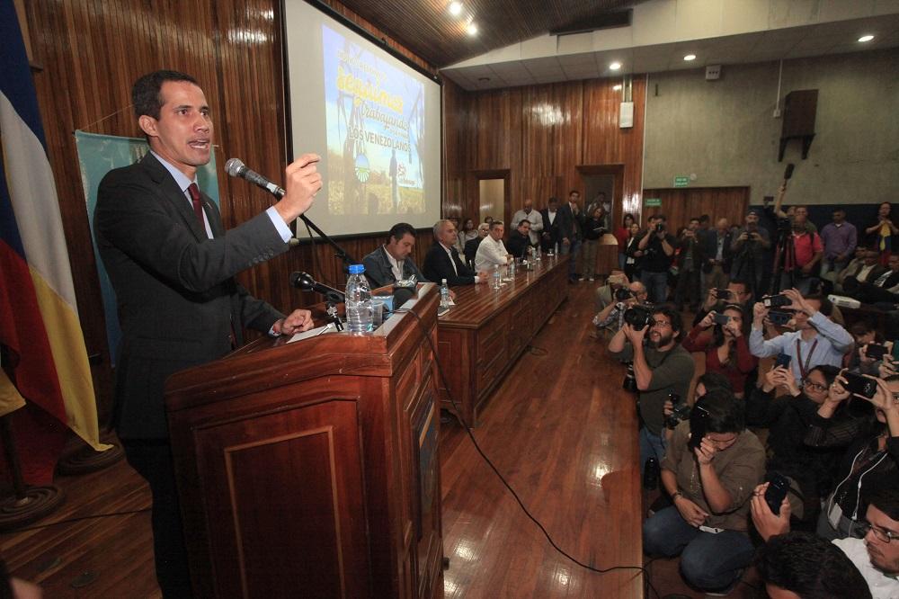 Juan Guaidó se reunió en la UCAB con el sector agropecuario