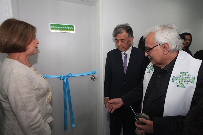 Centro de Salud Santa Inés estrenó moderno equipo de neurología