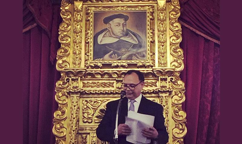 Incorporado Salvador Yannuzzi a la Academia de Ciencias Políticas y Sociales