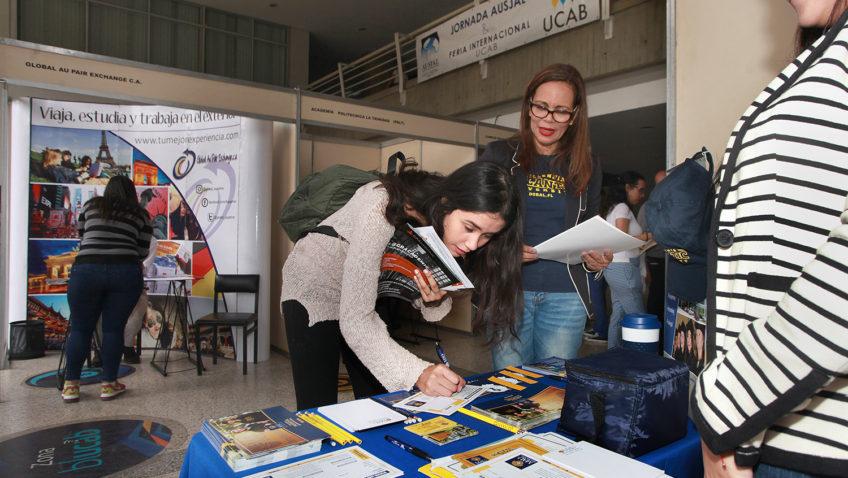 Así transcurrió la Feria de Oportunidades de Estudio en el Exterior 2019
