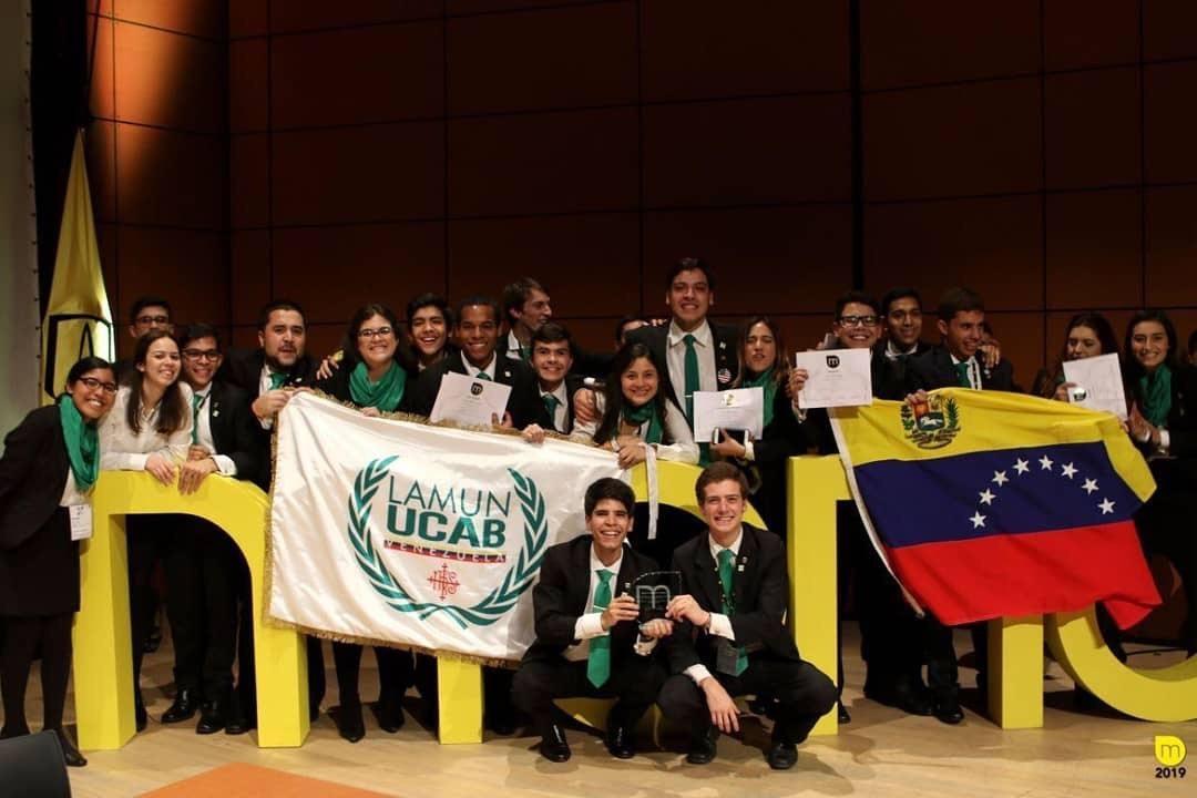 #OrgulloUcabista: LAMUN UCAB vuelve a triunfar en Modelo de Naciones Unidas en Colombia