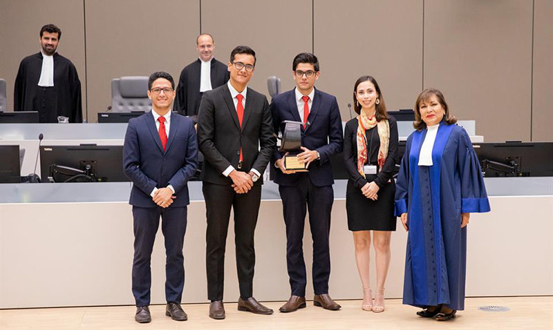 Ucabistas triunfaron en competencia organizada por la Corte Penal Internacional