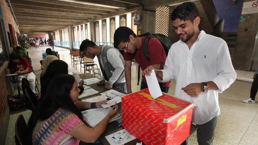 Ucabistas eligieron a sus nuevos representantes estudiantiles