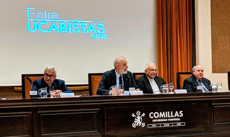 Rector de la Universidad Comillas de España resaltó la lucha de la UCAB