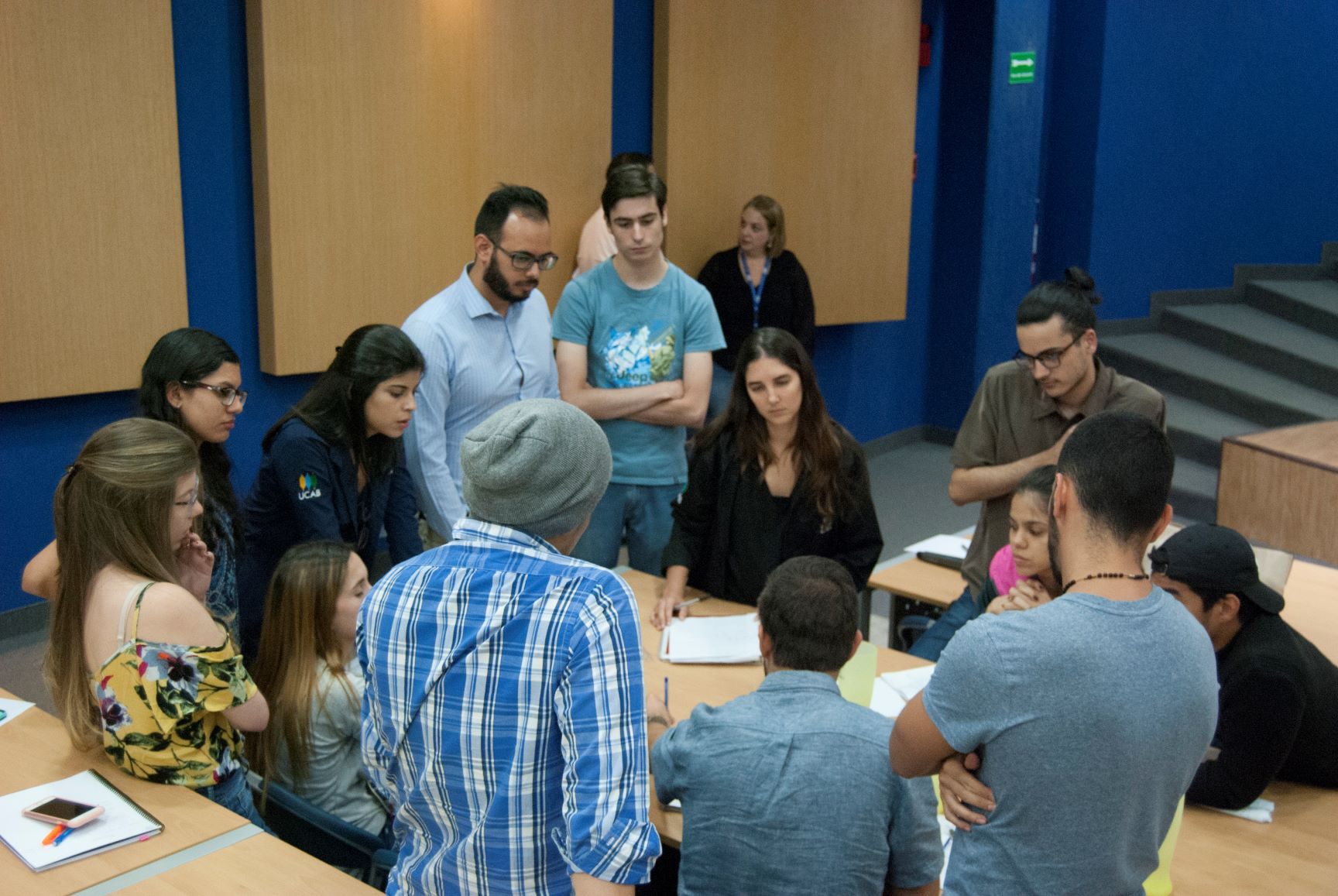 Segunda cohorte de estudiantes inició electiva de la cátedra Daycohost-UCAB