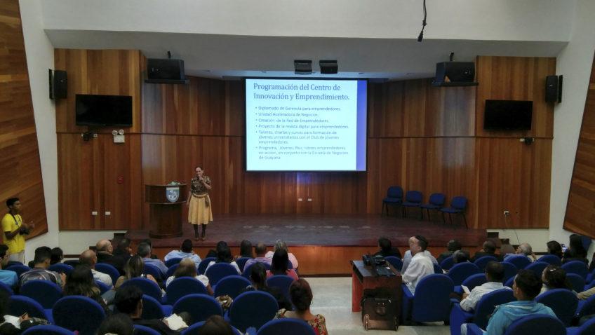 ¡Despierta tus sentidos! estimula a emprendedores en Guayana