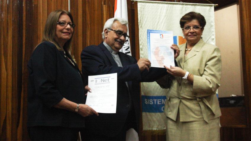 Fondonorma otorgó a la UCAB la certificación ISO 9001:2015 por su sistema de gestión