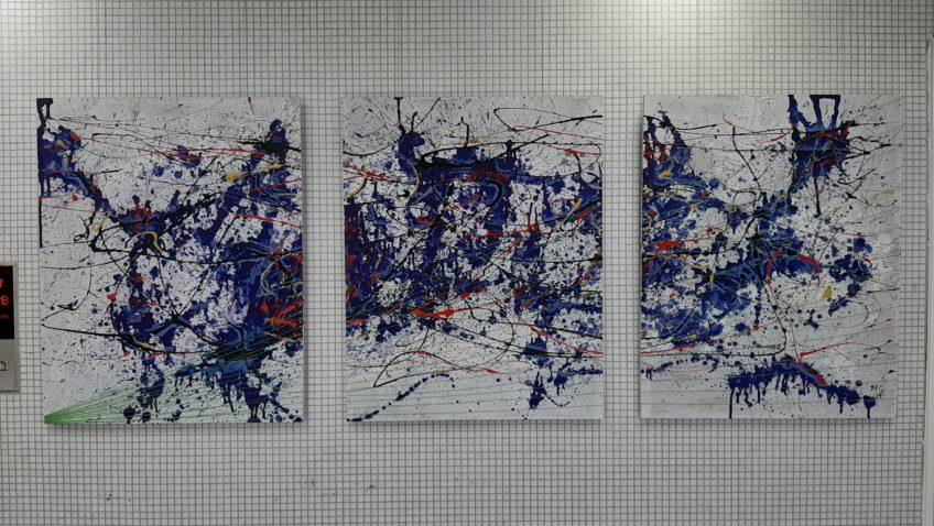 Ucabista inaugura su primera exposición en el Centro Cultural UCAB