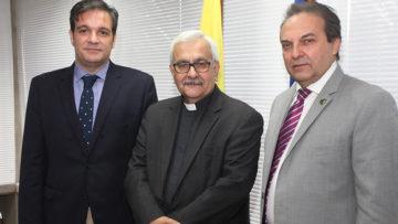 La UCAB firmó convenios académicos con Fedecámaras y la Cámara Inmobiliaria de Venezuela