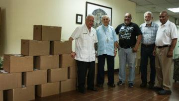 Abediciones donó más de 2000 libros a la Conferencia Episcopal Venezolana