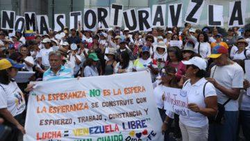 Tortura, asesinatos y justa rebelión