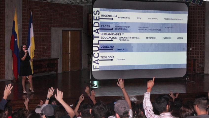 La UCAB recibió a los nuevos alumnos: así fueron las inducciones 2019-2020