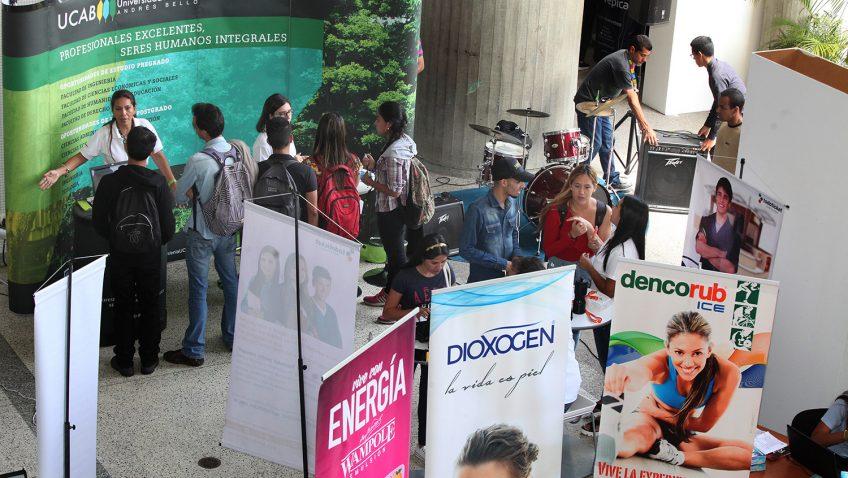Se acerca la Feria de empleo y pasantías UCAB 2019