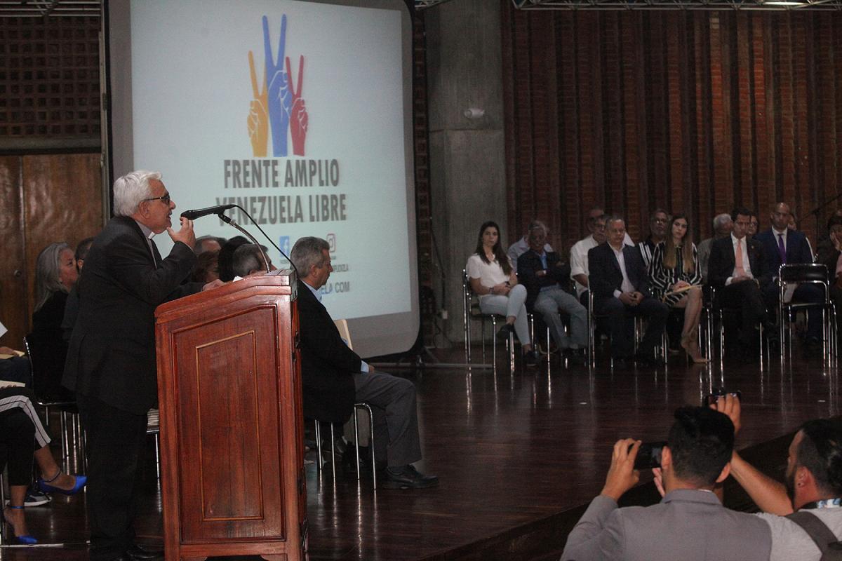 """Rector Virtuoso: """"Desde la UCAB trabajamos para que la sociedad venezolana se abandere del clamor por elecciones libres"""""""