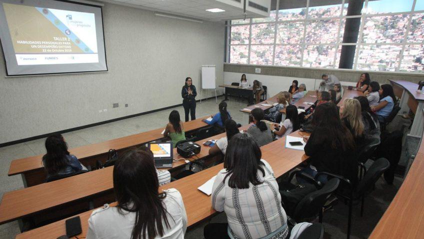 El programa «Mujeres con propósito» sigue formando emprendedoras