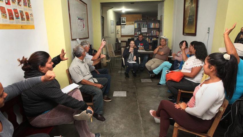Dirección de Proyección y Relaciones Comunitarias lleva adelante proyecto de reconciliación en La Vega