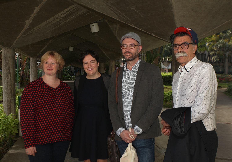 Escritores invitados a la FLOC compartieron ideas sobre literatura, crisis y resiliencia