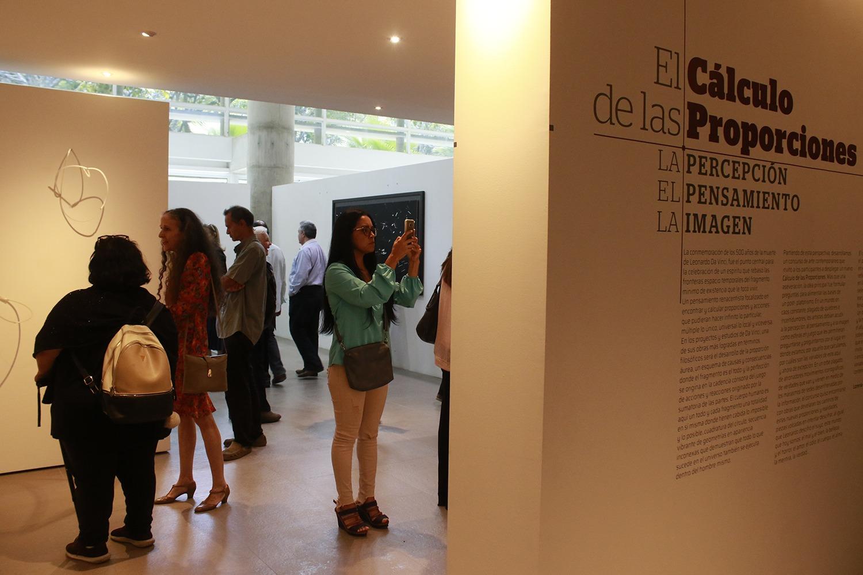 Más de 20 artistas exponen en la UCAB inspirados en Leonardo Da Vinci