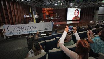 Constituir red en defensa del voto y la democracia acordaron dirigentes de la sociedad civil en la UCAB