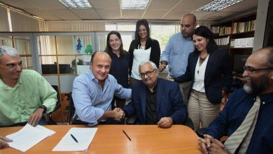 UCAB firmó convenio de cooperación con el Fondo para la Excelencia de la Escuela de Economía
