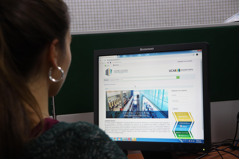 Biblioteca UCAB estrena sistema de consulta de libros online