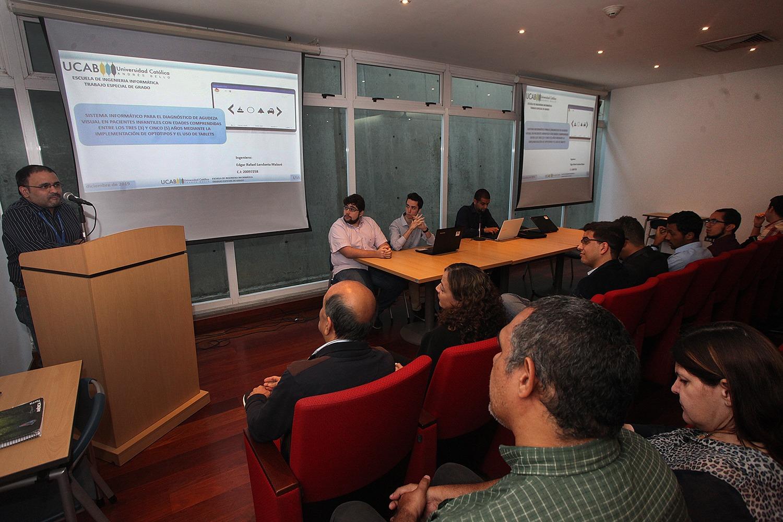Escuela de Ingeniería Informática celebró su primera jornada de investigación