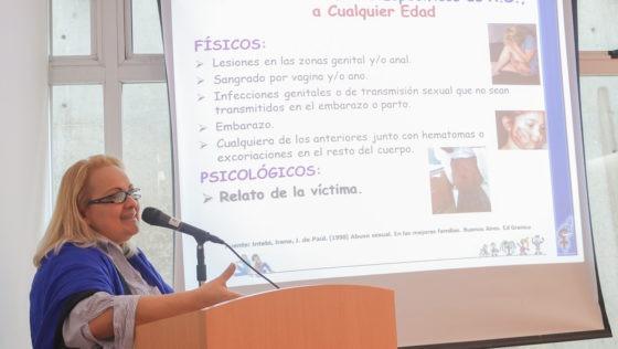 Desprotección de niños y adolescentes fue abordada en las IV jornadas contra la violencia de género