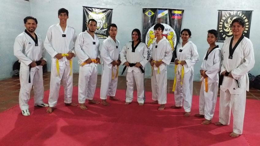 Taekwondo comienza a formar parte del estilo de vida de Ucab Guayana