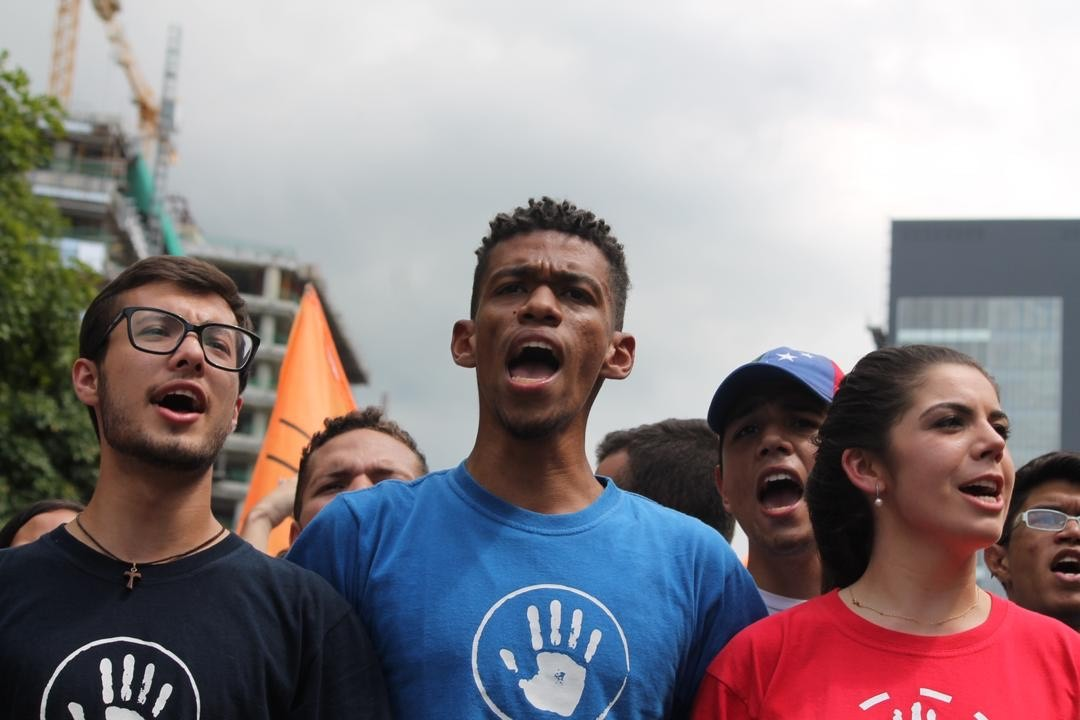 Movimiento estudiantil ucabista manifestó respaldo a Juan Guaidó ante crisis parlamentaria