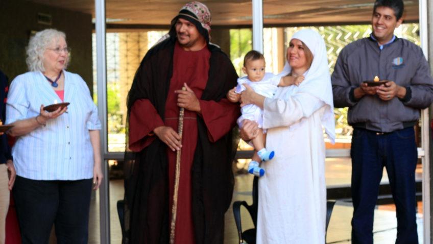 La UCAB celebró la Paradura del Niño junto a la comunidad (+Fotogalería)