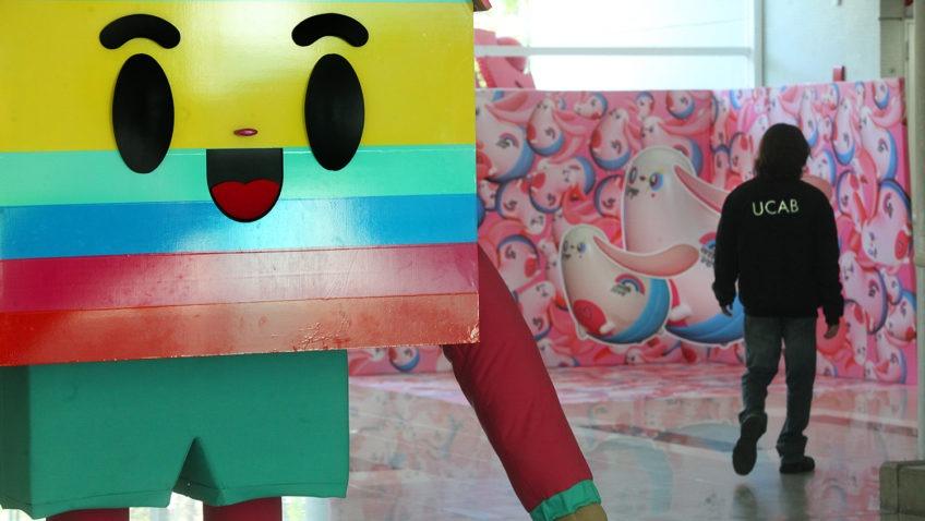 El colorido de Chocotoy se adueñó de la UCAB (+Fotogalería)