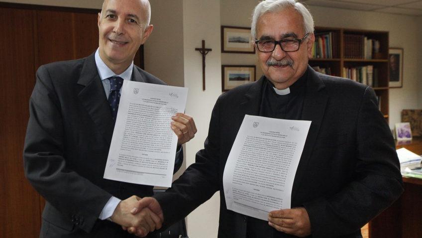 La UCAB y la Embajada de Italia renovaron convenio de formación en idiomas