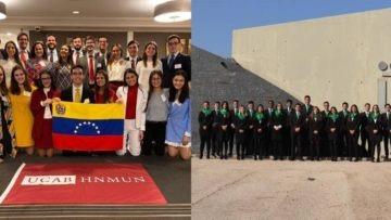 Ucabistas triunfaron en modelos de Naciones Unidas de EEUU y España