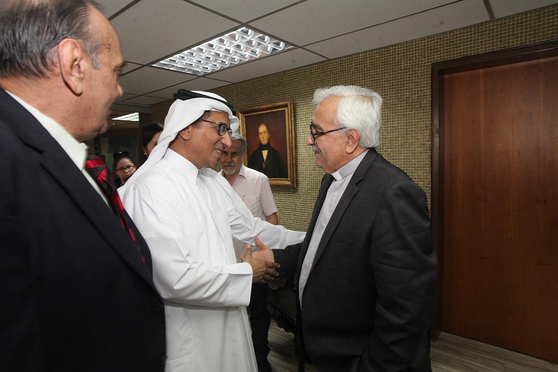 Visita del embajador de Qatar a la UCAB abre posibilidades de cooperación académica