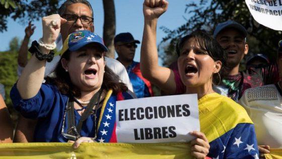 Sufrimiento nacional y elección libre presidencial