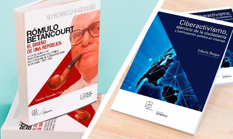 Sobre Rómulo Betancourt y activismo político en internet son los dos nuevos libros que obsequia la UCAB
