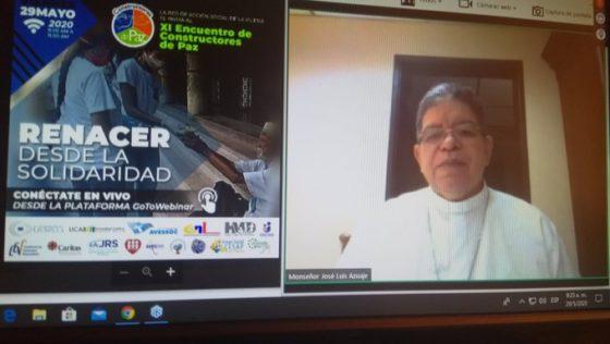 XI Encuentro de Constructores de Paz urge al Estado a ocuparse de la emergencia humanitaria