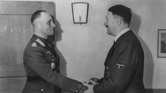 La muerte de Rommel