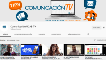 La Escuela de Comunicación Social estrenó canal de YouTube